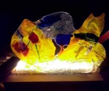 Lampada fusing glass